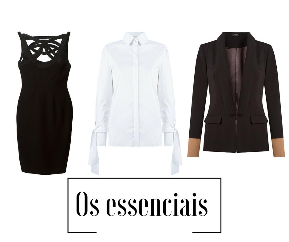 Vestido - Aqui / Camisa - Aqui / Blazer - Aqui