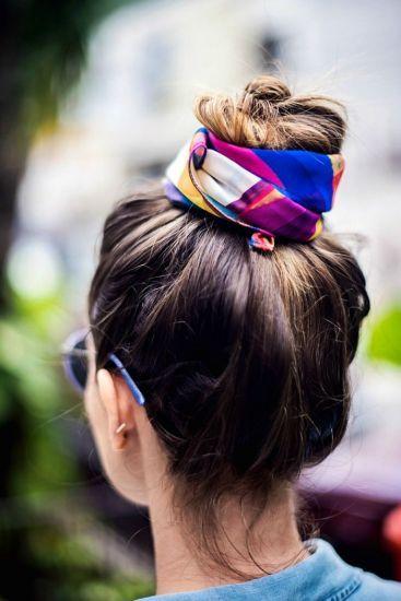 Nos cabelos imagem: via pinterest