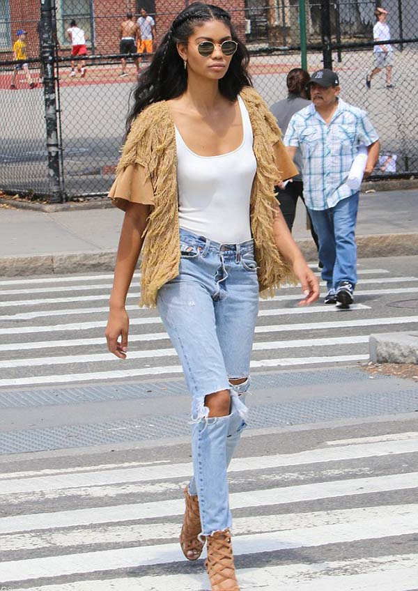 Chanel-Iman-calca-boyfriend